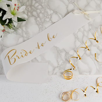 product image for amore bridal showerhen party paper sash