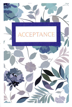 Open Simon Elvin Christening Acceptance Card Party Birthday Wedding