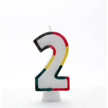 Product Image For Age 2 Number Candle